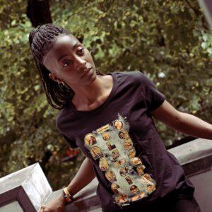 aadb shirt female black