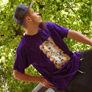 aadb purple shirt